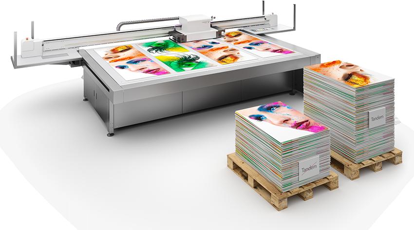 Digital UV-Direktdruckmaschine und Werbeschilder